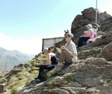 3-й день, гора Чегет