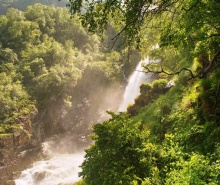 День 2. Ущелье Домбай- Ульген и Чучхурские водопады